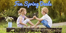 Explore These Fun Spring Deals Today!