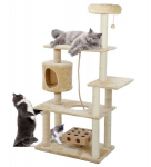 Amazon: Furhaven Pet Tiger Tough Cat Tree Deluxe Playground Tower Only $57.48! Normally $169.00!