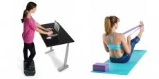 Gaiam Balance Board & Yoga Block Combo!