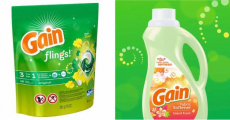 Gain Flings & Fabric Softener ONLY $1.64/Each!