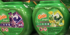 61-Pack Gain Flings Laundry Detergent Pacs Just $14.99 Shipped!