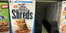General Mills Blasted Shreds Cereal Just $1.24/Each!