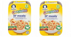Amazon: Gerber Graduates Lil' Meals 6ct Packs ONLY $0.44/Each Shipped!