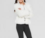Girls' Fuzzy Long Sleeve Jacket $9.99 (REG $19.98)
