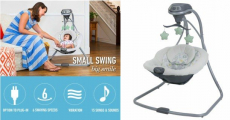 Graco Simple Sway Swing Just $69.99 Shipped! Normally $99.99!