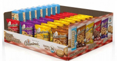 Grandma's Cookies 36-Count Variety Pack Just $0.32/Pack Shipped!