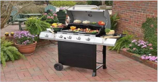 Enter To Win A New Char-Broil Classic 4-Burner Gas Grill!