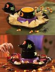 Witch Hat Halloween Chip And Dip Set only $10.96!