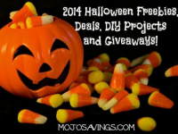 2014 Halloween Freebies, Deals, DIY Projects and Giveaways!