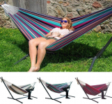 Rewekold Comfort Durability Striped Hanging Chair