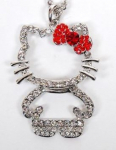 Hello Kitty Pendant Necklace Only $2.99 Shipped!