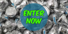 Win 25 lbs of Hershey's Chocolate Kisses!!!