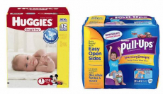 New! $4.00 Off Huggies Diapers And Pull-Ups Printable Coupon! Diaper Jumbo Packs Only $5.97 At Walmart!