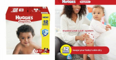Huggies Snug & Dry Diapers Just $0.07/Diaper Shipped On Amazon!