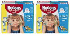 Amazon: Huggies 648-count Wipes Only $8.39 Shipped!! Only $0.01 Per Wipe!