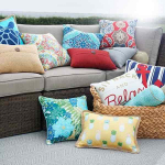 HOT! Indoor/Outdoor Throw Pillows Just $7.19/Each At Kohl's!