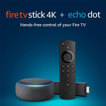 Fire TV Stick 4K Bundle + All-New Echo Dot (3rd Gen) only $59.98 shipped (reg $100)