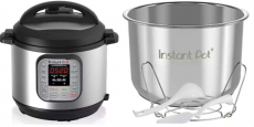 Instant Pot 7-in-1 6 Qt Pressure Cooker Only $84.99 Shipped + $10 in Kohl's Cash!