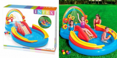 Intex Rainbow Ring Inflatable Play Center Just $35.98 Shipped!