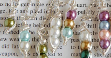 Limited Time! Custom Mama's Sweet Peas Necklaces Just $8.99!