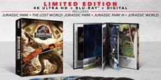 Jurassic Park 25th Anniversary Collection 4K Ultra HD Just $34.99 Shipped! (Reg $80)