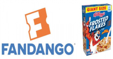 FREE Fandango Movie Tickets When You Buy Two Kellogg's Purchases!