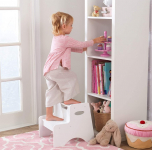 KidKraft Wooden Two Step Children's Stool with Handles