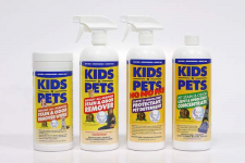 Challenge Any Mess With KIDS 'N' PETS Cleaning Products!