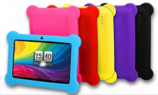 DX758 8GB 7″ Kids' Tablet with Android OS, Protective Case, Stylus, Carrying Pouch, and Screen Protector Only $49.99! Normally $399.99!