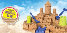 Kinetic Sand The One Only Sandcastle Set only $9.99!