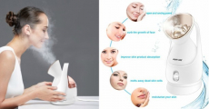 Kingdom Beauty Ionic Facial Steamer Just $19.49 Shipped!