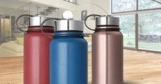 Amazon: Stainless Steel Insulated Water Bottles Just $10.99!