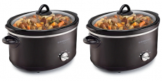 KitchenSmith by Bella 6-Quart Slow Cooker Just $11.99!