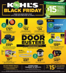 Kohl's Black Friday Ad for 2018!