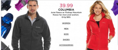 Save Columbia At Kohl's! Men's and Women' s Fleece Only $39.99!