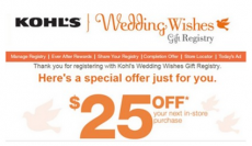 *HOT* FREE $25 off $25 Kohl's Purchase!
