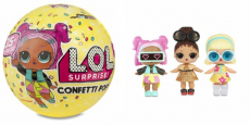 L.O.L. Surprise! Confetti Pop Series 3-Wave 1 Unwrapping Toy Just $12.99!