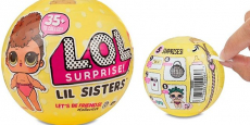 L.O.L. Surprise! Lil Sisters Ball Series 3 Just $14.99!