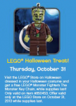 FREE LEGO Monster Fighters The Monster Key Chain!