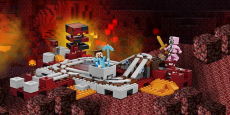 LEGO Minecraft The Nether Railway only $19.99 (reg $30)