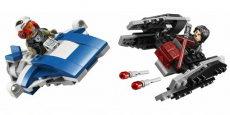 LEGO Star Wars A-Wing vs. TIE Silencer Microfighters ONLY $15.99!