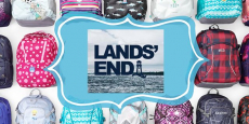 Lands' End: 50% off ALL Backpacks AND Lunch Boxes + Free Shipping!