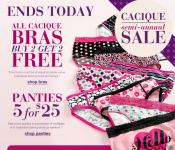 Lane Bryant: Buy 2 Bras, Get 2 FREE, 60% off Clearance Sale + More!