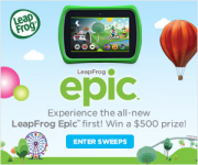 Enter To Win A $500 LeapFrog Epic Prize Pack! New Winners Every Week!