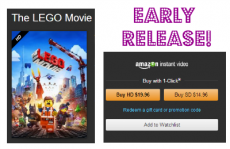 The Lego Movie, Watch Now at Amazon!