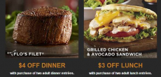 New! Get $4.00 Off At LongHorn Steakhouse!
