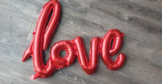 Save On Valentine's Day Decor! Get These Cute Love Balloons For Only $3.99!