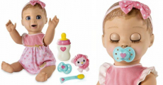 Lowest Price!!! Luvabella Responsive Baby Doll ONLY $74.96 Shipped!