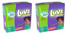 Last Chance! Luvs Leakguards Diapers 21ct Pack ONLY $1.97/Each!