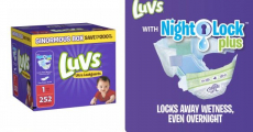 Amazon: Luvs 252 Count Boxes Just $0.10/Diaper Shipped!
